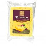 Сыр полутвердый КАРЛОВ ДВОР Маасдам 45% фасованный, 300г