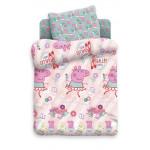 Комплект постельного белья Свинка Пеппа для детей