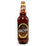 Пиво ОХОТА Крепкое Пиво пэт, 1,4 л