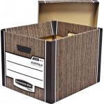 Архивный короб FELLOWES Woodgrain