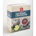 Чай черный FINE LIFE с бергамотом пакетированный, 100х2г