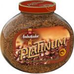 Кофе растворимый AMBASSADOR Platinum, 190г