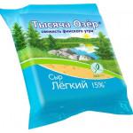 Сыр ТЫСЯЧА ОЗЕР Свежесть финского утралегкий 15%, 240 г