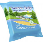 Сыр ТЫСЯЧА ОЗЕР сливочный 50%, 240 г