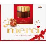 Конфеты шоколадные MERCI Ассорти, 250г