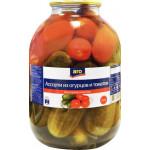 Ассорти огурцы+томаты ARO, 3кг