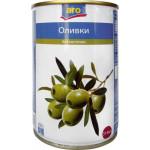 Оливки зеленые ARO без косточки, 314 мл