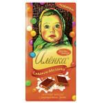 Шоколад АЛЕНКА Сладкая мозаика молочный с разноцветным драже, 100 г