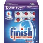 Таблетки для посудомоечных машин FINISH Powerball в упаковке, 80шт