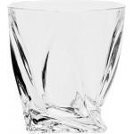 Стаканы для виски BOHEMIA Crystal Квадро 340мл, 6шт