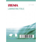 Пленка для ламинирования SIGMA LF 125 мкм, 60*96, 100шт