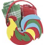 Набор полотенец в подарочной сумке