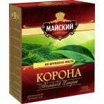 Чай Майский КОРОНА РОССИЙСКОЙ ИМПЕРИИ черный, 100х2г