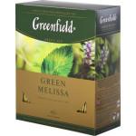 Чай GREENFIELD Green Melissa, 100х1,5г