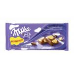 Шоколад молочный MILKA белый пятнистый, 90г