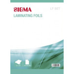 Набор SIGMA А4/А5/А6 пленка для ламинирования, 75шт, 80мк