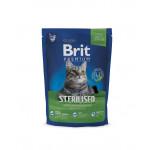 Корм BRIT для стерилизованных кошек, 800 г