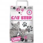 Наполнитель для кошачьих туалетов CAT STEP Ultra, 5кг