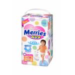 Трусики-подгузники MERRIES 5 (12-22 кг), 38 шт
