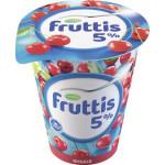 Продукт йогуртный FRUTTIS сливочное лакомство вишня 5%, 320 г