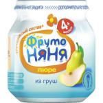 Пюре ФРУТОНЯНЯ из груш в упаковке, 6*100 г