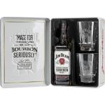 Виски JIM BEAM + 2 стакана, 0,7л