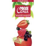 Нектар МОЯ СЕМЬЯ фруктово-ягодный, 2 л