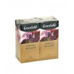 Чай черный GREENFIELD Spring Melody пакетированный в упаковке, 2х50г
