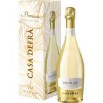 Вино игристое CASA DEFRA Prosecco белое брют, 0,75 л