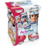 Функциональный напиток ACTIMEL Kids малина, 100г