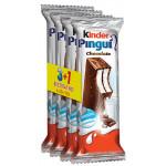 Бисквит KINDER Pingui молоко и шоколад, 4х30г