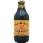 Пиво темное TRIO Extra Stout лагер стекло, 0,33л
