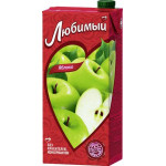 Нектар ЛЮБИМЫЙ Яблоко осветленный, 0,95 л