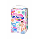 Трусики-подгузники MERRIES L 4 (9-14кг), 44 шт