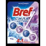 Средство чистящее BREF Сила-Актив для унитаза Свежесть лаванды, 50 г