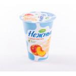 Йогурт CAMPINA нежный с соком персика, 1,2% 320г
