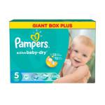 Подгузники PAMPERS Active baby dry junior 5 (11-18 кг), 126 шт
