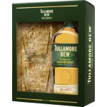 Виски TULLAMORE DEW и 2 бокала в подарочном наборе, 0,7л
