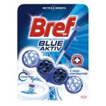 Чистящие шарики для сливного бачка BREF Blue Aktiv Синяя вода, 50 г