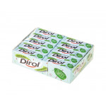 Жевательная резинка DIROL сладкая мята, 13,6г