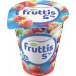 Продукт йогуртный FRUTTIS сливочное лакомство клубника 5%, 320 г