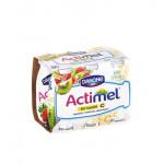 Функциональный напиток ACTIMEL киви/клубника в упаковке, 6х100г