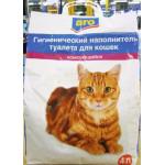 Наполнитель ARO для кошачьего туалета, 4л