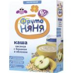 Каша ФРУТОНЯНЯ овсяная молочная с бананом и яблоком, 200г