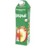 Нектар ДОБРЫЙ деревенские яблочки, 1 л