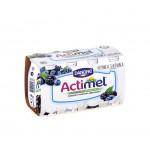 Функциональный напиток ACTIMEL черника/ежевика в упаковке, 8х100г