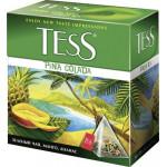Чай TESS Pina Colada в пирамидках, 20х1,8г