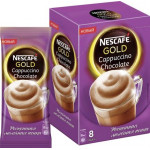 Кофейный напиток NESCAFE Gold Cappuccino Chocolate растворимый, 8х17г