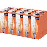 Лампа накаливания свеча OSRAM прозрачная 60W E14