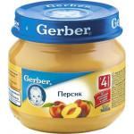 Пюре GERBER Персик, 80г